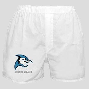 Bluejay Head (Custom) Boxer Shorts