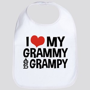 Grammy and Grampy Bib