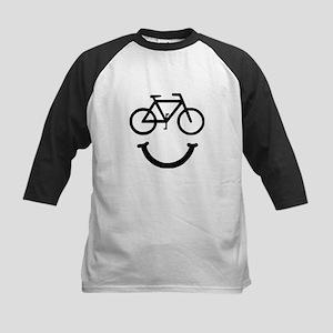 Bike Smile Baseball Jersey