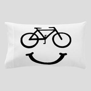 Bike Smile Pillow Case