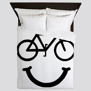 Bike Smile Queen Duvet