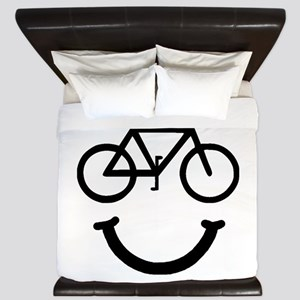 Bike Smile King Duvet