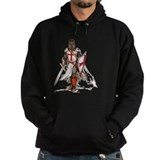 Knights templar Dark Hoodies