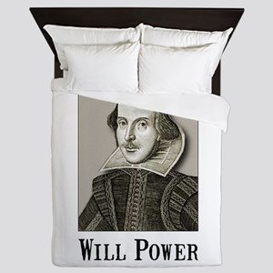 Will Power Queen Duvet