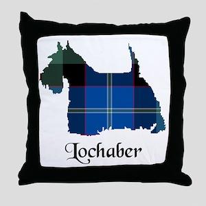 Terrier - Lochaber dist. Throw Pillow