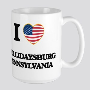 I love Hollidaysburg Pennsylvania Mugs