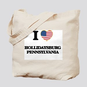 I love Hollidaysburg Pennsylvania Tote Bag