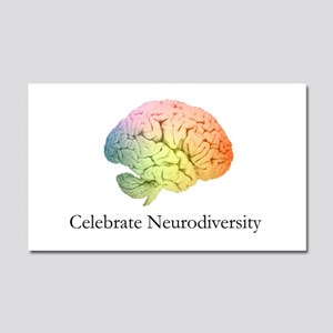 Celebrate Neurodiversity Car Magnet 20 x 12