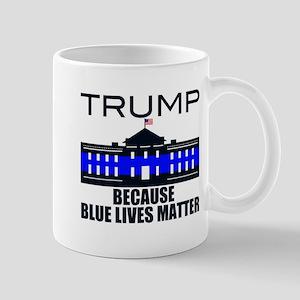 Trump men in blue Mug
