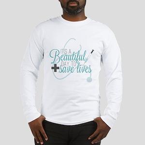 Grey's Anatomy: A Beautiful Da Long Sleeve T-Shirt