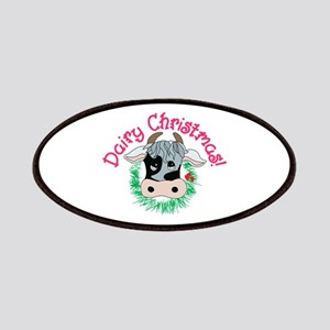 Dairy Christmas Patch