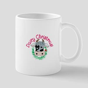 Dairy Christmas Mugs