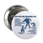 "Zombie Jezabub 2.25"" Button (10 Pack)"