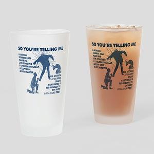 Zombie Jezabub Drinking Glass