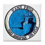 USS HOOPER Tile Coaster