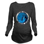 USS HOOPER Long Sleeve Maternity T-Shirt