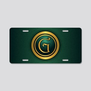 Harrington G Aluminum License Plate