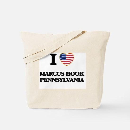 Unique I love marcus Tote Bag