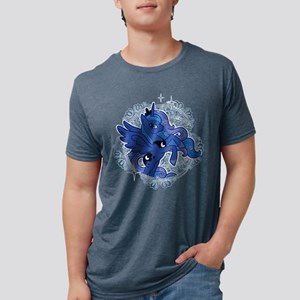 My Little Pony Princess Lun Mens Tri-blend T-Shirt