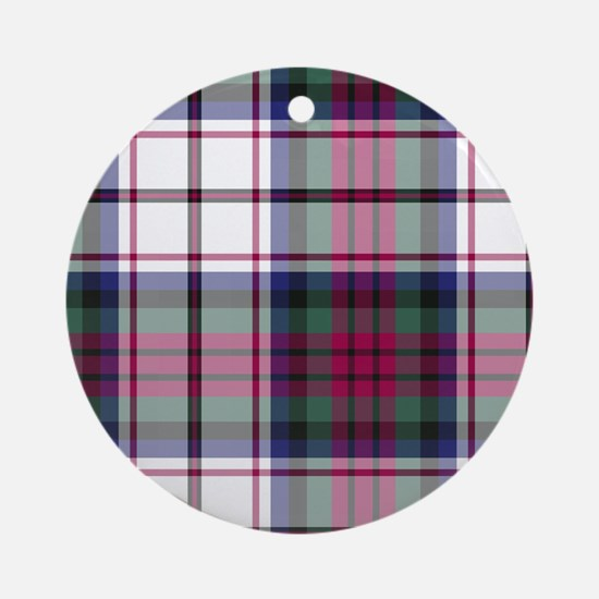 Tartan-MacDuff dress Ornament (Round)