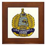USS HOPEWELL Framed Tile