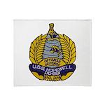 USS HOPEWELL Throw Blanket