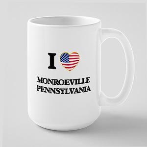I love Monroeville Pennsylvania Mugs
