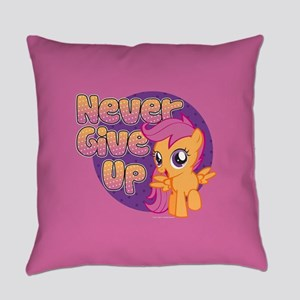 MLP Scootaloo Never Give Up Everyday Pillow