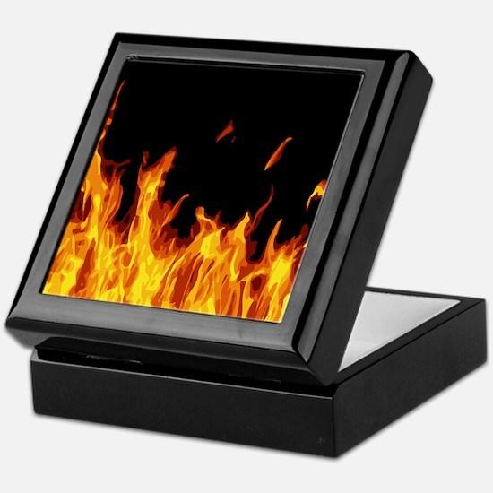 Flames Keepsake Box