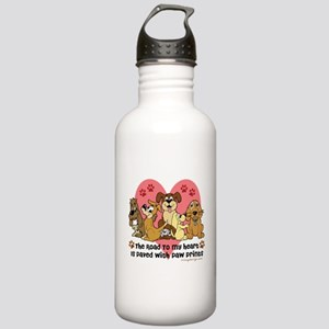 The Road To My Heart D Stainless Water Bottle 1.0L