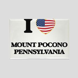 I love Mount Pocono Pennsylvania Magnets