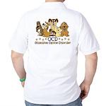 OCD Obsessive Canine Disorder Golf Shirt