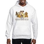 OCD Obsessive Canine Disorder Hooded Sweatshirt
