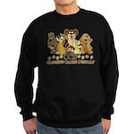 OCD Obsessive Canine Disorder Sweatshirt (dark)