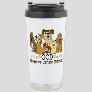 OCD Obsessive Canine Di Stainless Steel Travel Mug