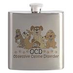 OCD Obsessive Canine Disorder Flask