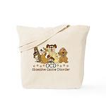 OCD Obsessive Canine Disorder Tote Bag