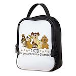 OCD Obsessive Canine Disorder Neoprene Lunch Bag