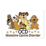 OCD Obsessive Canine Diso Postcards (Package of 8)