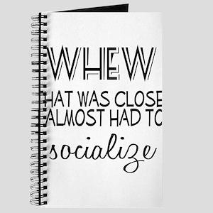Whew Socialize Journal