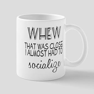 Whew Socialize Mug
