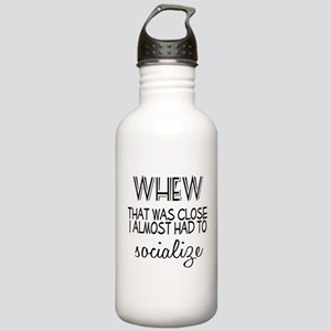 Whew Socialize Stainless Water Bottle 1.0L