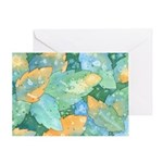 Early Frost Watercolor Greeting Card