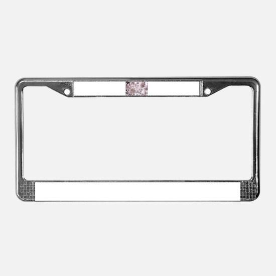 Soft Puffs License Plate Frame