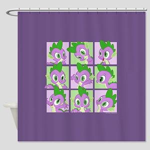 My Little Pony Spike Shower Curtain