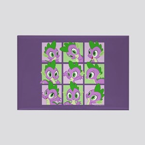 My Little Pony Spike Rectangle Magnet
