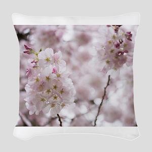 Soft Puffs Woven Throw Pillow