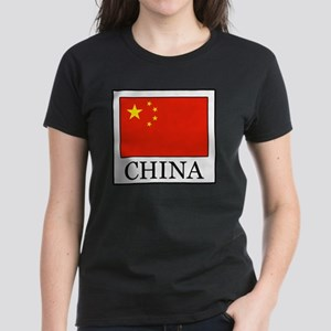 China Women's Dark T-Shirt