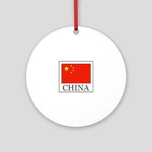China Ornament (Round)
