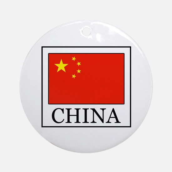 China Ornament (Round)
